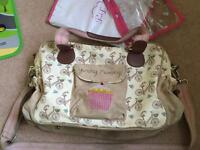 Yummy mummy in the mews baby changing bag
