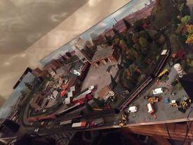 Model railway for sale 00 gauge 8 by 4 ft