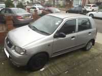 2004 suzuki alto 0.9 5 door£30 year road tax good engine+good gearbox needs attention SPARES/REPAIRS
