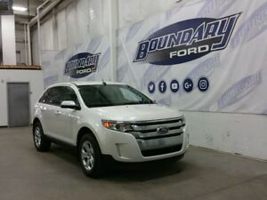 2014 Ford Edge SEL W/ AWD, Leather, V6, Rmt Strt, Chrome Grill
