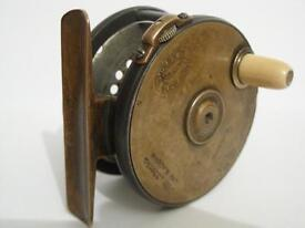 WANTED - VINTAGE / OLD HARDY FISHING REELS, HARDY PERFECTS, ALLCOCK AERIALS, BRASS REELS & TACKLE