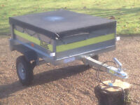 IMMACULATE, Fully Galvanised Franc Tipping Trailer