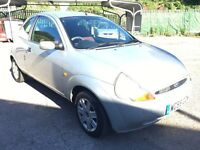 Ford KA Collection 1.3i, 2005/55 Reg, MOT 19th Dec 2016, Full Service History, 3 Door Hatch, Silver