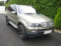 BMW X5 SPORT DIESEL AUTO , 55 PLATE, PANORAMIC SUNROOF, AIR-CON, FSH