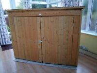 Wooden storage / Bike shed 6'4'' x 2'10''
