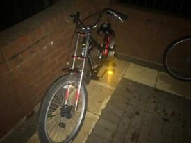 Chrysler chopper bike