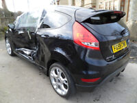 2009 59 reg Ford Fiesta 3Dr 1.6 120 Zetec S-DAMAGED REPAIRABLE SALVAGE
