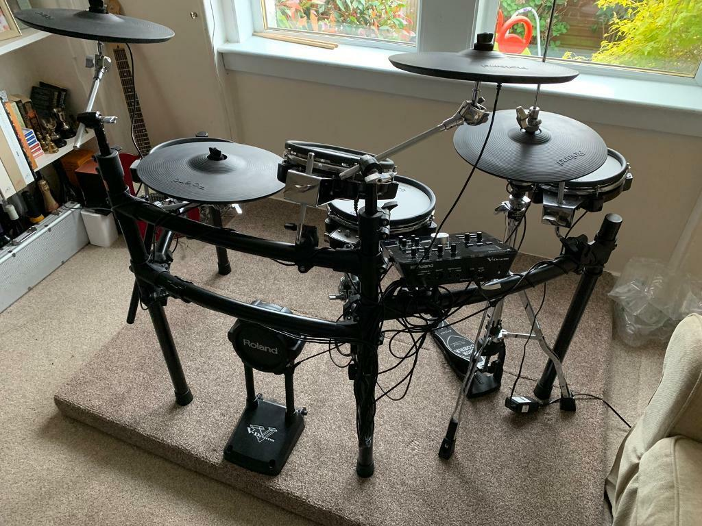 Roland td25kv electronic drum kit mint condition RRP £2500 | in Southside,  Glasgow | Gumtree