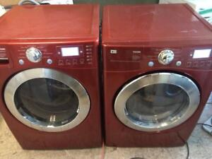 26-Laveuse Sécheuse Frontales  LG TROMM Frontload  Washer dryer