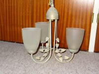 Two Three Lamp Ceiling Lights
