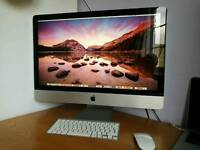 "Apple iMac 27"" 1TB HD, 12GB RAM, Mid 2011"