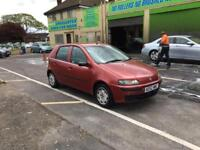 Fiat punto 1.2 5dr, ideal first car or cheap run about, low mileage long mot