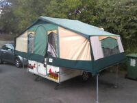 Conway Countryman folding camper (trailer tent) 2004