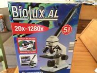 BRESSER MICROSCOPE 20x-1280x