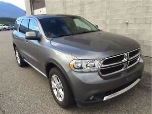 2011 Dodge Durango SXT. 7 Passenger, AWD, rear DVD.