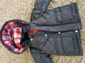 Baby boy jacket size 6-9