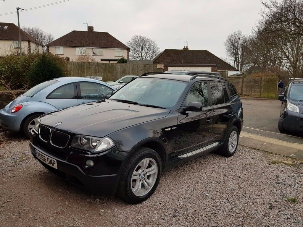 BMW X3, genuine Low Mileage and Long MOT