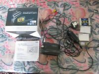 Samsung VP-D416B digital video camera in perfect working order. Boxed, instruction book etc