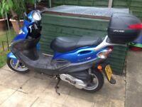 Kymco movie 125 scooter