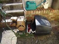 Webb petrol powered lawn mower for sale