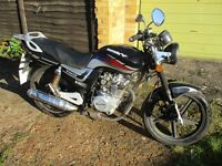 Lexmoto Arrow 125cc Motorbike