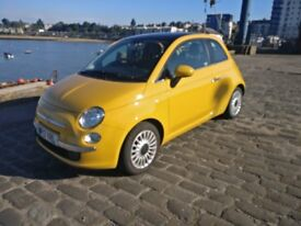 2013 fiat 500 lounge rhd 3door hatchback 1.2 petrol
