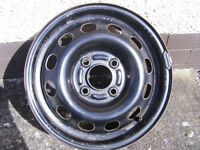 "FORD 14"" 4-STUD STEEL WHEEL ESCORT/FOCUS ETC."