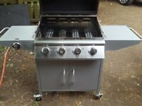 Gas BBQ/Barbeque. Good condition. 4 main burners and a side burner.