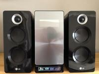 LG Hi-fi system with CD player and digital radio and other extras
