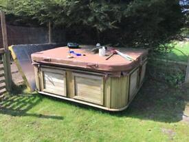 Hot tub needs refurbishing!!