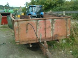 Massey Ferguson 3.5 ton tipping trailer