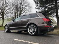 Audi Q7 s line fully loaded pan roof