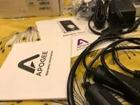 Apogee Duet for iPad, iPhone and Mac.