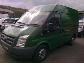 2008 ford transit van swb semi high roof only 1 pre keeper full service history very clean