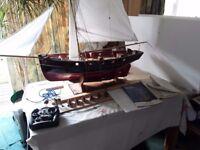 Quarter-scale naval cutter 1828 model ship