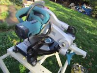 110 volt makita cut off saw with stand £190 transformer extra if you need it £70