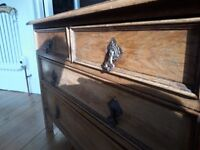 Vintage Chest of Drawers - Reduced from £40 to £30 for quick sale