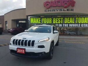 2015 Jeep Cherokee North 4X4 V6 ALTITUDE BLACK WHLS H-TED WHEEL