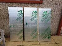 NOW SOLD. Insulation boards x5 (5cm x 45cm x 120cm) brand new.