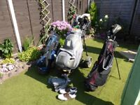 Full Set of Cobra Golf Clubs and much More