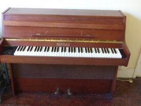 Upright Bentley electric piano/harpsichord. free as 3 keys not working but repairable