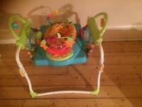 Jumperoo with walker