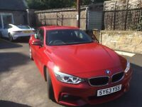 BMW 420 d M Sport Coupe. Manual gearbox.