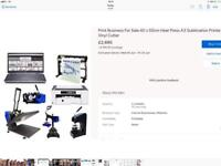 Start your own printing business from home with this equipment