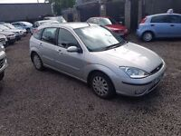 TRADE IN TO CLEAR!! 2003 FORD FOCUS GHIA 12 MONTHS MOT ONLY.......£595