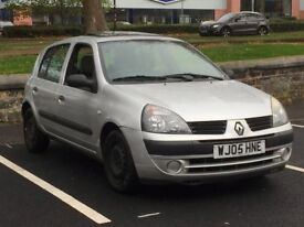 2005 RENAULT CLIO 1.4 * 5 DOOR * LOW MILES * FSH inc CAMBELT CHANGE * PART EX WELCOME * DELIVERY *