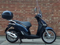 Piaggio Liberty 125 in blue, Excellent Condition, Only 3500 miles!