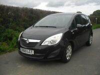 Vauxhall Meriva Exclusiv 1.4 only 26000 miles guaranteed, one lady owner from new