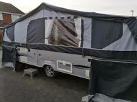 Conway Crusader 2010 folding camper with motor mover and full acrylic awning. Offers over £8600