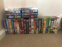 Disney VHS videos x 30 for children. FREE